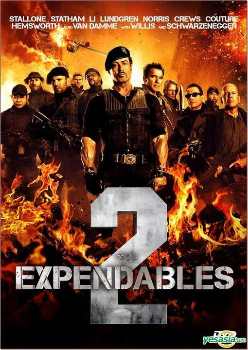 Yesasia The Expendables 2 2012 Dvd Hong Kong Version Dvd Jean Claude Van Damme Couture Randy Intercontinental Video Hk Western World Movies Videos Free Shipping