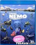 Finding Nemo (2003) (Blu-ray) (3D) (Hong Kong Version)