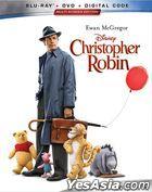 Christopher Robin (2018) (Blu-ray + DVD + Digital Code) (US Version)