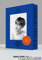 Kang Daniel 1st Art Book - NEVER STANDING STILL (Innocent Version)