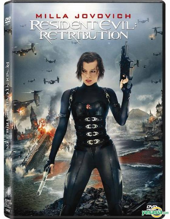 Yesasia Resident Evil Retribution 2012 Dvd Hong Kong Version Dvd Michelle Rodriguez Sienna Guillory Intercontinental Video Hk Western World Movies Videos Free Shipping