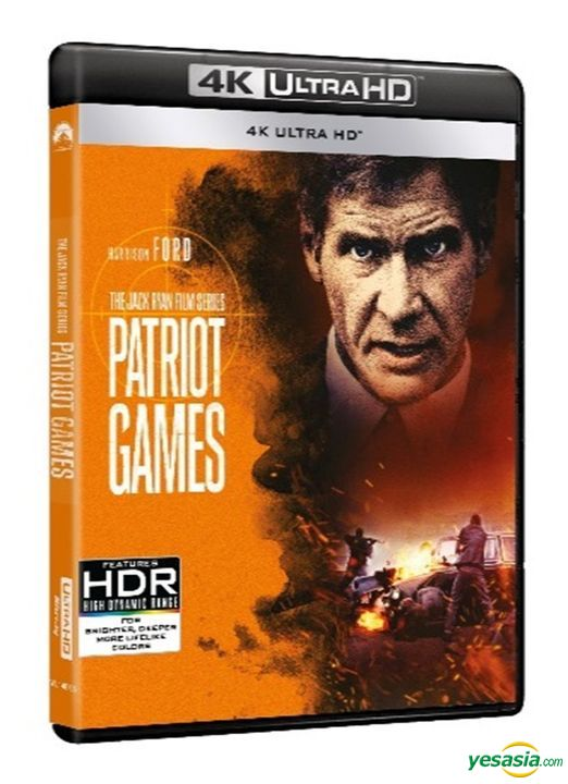 Yesasia Patriot Games 1992 4k Ultra Hd Blu Ray Hong Kong Version Blu Ray Sean Bean Harrison Ford Intercontinental Video Hk Western World Movies Videos Free Shipping