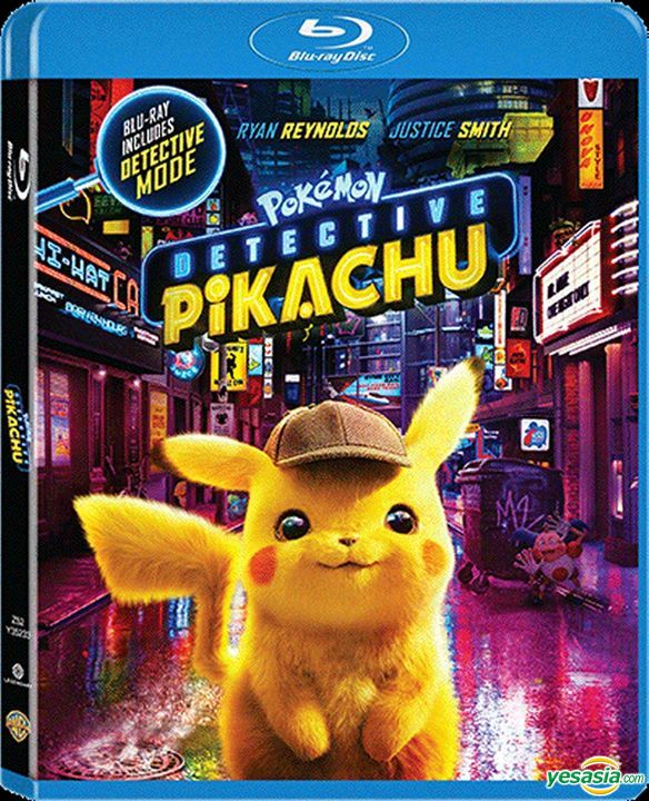 Yesasia Pokemon Detective Pikachu 2019 Blu Ray Hong Kong Version Blu Ray Justice Smith Kathryn Newton Deltamac Hk Western World Movies Videos Free Shipping North America Site