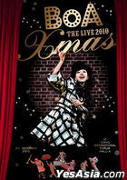 BoA The Live  2010 'X'mas' (DVD) (限定版) (韓國版)