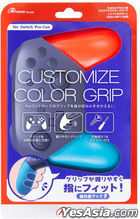 Nintendo Switch Pro Con Customize Color Grip (Red & Blue) (Japan Version)