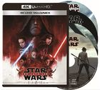 Star Wars: The Last Jedi (MovieNEX + 4K Ultra HD +3D + Blu-ray) (Japan Version)