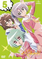 Hayate the Combat Butler: Cuties Vol.5 (DVD) (Normal Edition)(Japan Version)