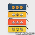 Kakao Friends Friends School PU Triangle Pencil Pouch Pencil Case (Tube)