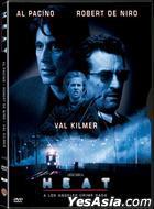 Heat (1995) (DVD) (Hong Kong Version)