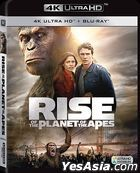 Rise Of The Planet Of The Apes (2011) (4K Ultra HD + Blu-ray) (Hong Kong Version)