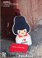Miraclekorea Traditional Character Travel Name Tag (Version 3) (King)