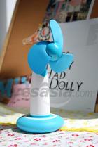 Mini USB Powered Desktop Fan (Sky Blue)