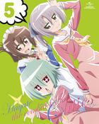 Hayate the Combat Butler Cuties Vol.5 (Blu-ray+CD)(First Press Limited Edition)(Japan Version)