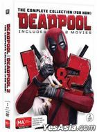 Deadpool 1+ 2 (DVD) (The Complete Collection) (Taiwan Version)