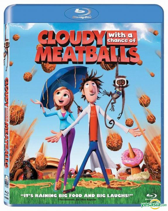 Yesasia Cloudy With A Chance Of Meatballs 2009 Blu Ray Hong Kong Version Blu Ray Phil Lord Christopher Miller Intercontinental Video Hk Western World Movies Videos Free Shipping North America Site