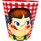 牛奶妹 塑胶杯 (格仔)