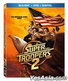 Super Troopers 2 (2018) (Blu-ray + DVD + Digital) (US Version)