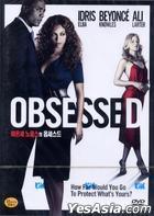 Obsessed (2009) (DVD) (Korea Version)