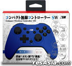 Nintendo Switch Compact Wirless Controller SW (Blue) (Japan Version)