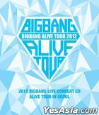Big Bang - 2012 Big Bang Live Concert CD [Alive Tour in Seoul]