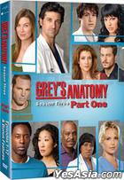 Grey's Anatomy (DVD) (Season 3 : Part 1) (Korea Version)