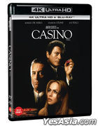 Casino (4K Ultra HD + Blu-ray) (Limited Edition) (Korea Version)