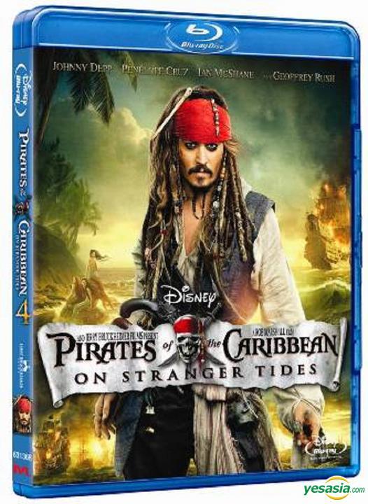 Yesasia Pirates Of The Caribbean On Stranger Tides 2011 Blu Ray 2d Hong Kong Version Blu Ray Johnny Depp Penelope Cruz Intercontinental Video Hk Western World Movies Videos Free