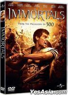 Immortals (2011) (DVD) (Hong Kong Version)