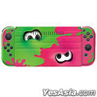 Front Cover + Joy-Con Silicon Cover Set COLLECTION for Nintendo Switch Splatoon2 (日本版)