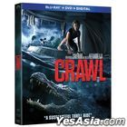 Crawl (2019) (Blu-ray + DVD + Digital) (US Version)