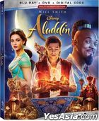 Aladdin (2019) (Blu-ray + DVD + Digital Code) (US Version)