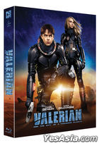 Valerian and the City of a Thousand Planets (Blu-ray) (Lenticular Full Slip + Character Card + Postcard) (Scanavo Numbering Limited Edition) (Korea Version)