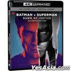 Batman v Superman: Dawn of Justice (2016) (4K Ultra HD Blu-ray) (Single Disc Reprint Edition) (Taiwan Version)