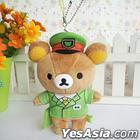 San-X Rilakkuma Yamanote Line Series - Plush Toy Accessory (Station Master)