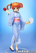 Magical Girl Lyrical Nanoha The Movie 2nd A's : Takamachi Nanoha Yukata Ver. 1:8 Pre-painted PVC Figure