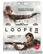 Looper  (Blu-ray) (First Press Limited Edition) (Korea Version)