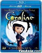Coraline (Blu-ray) (3D+2D)  (Hong Kong Version)