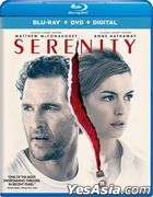Serenity (2019) (Blu-ray + DVD + Digital) (US Version)