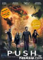 Push (2009) (DVD) (Steel Book) (Thailand Version)