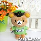 San-X Rilakkuma Yamanote Line Series - Plush Toy Accessory (Conductor)