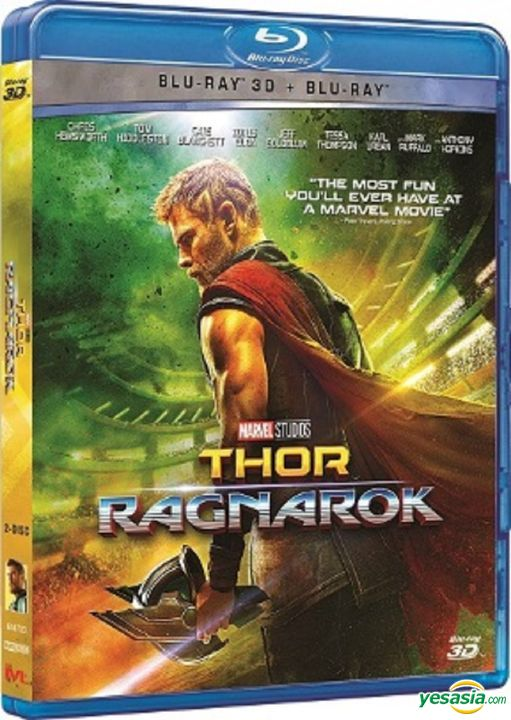 Yesasia Thor Ragnarok 2017 Blu Ray 2d 3d Hong Kong Version Blu Ray Chris Hemsworth Tom Hiddleston Intercontinental Video Hk Western World Movies Videos Free Shipping North America Site