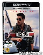 Top Gun (4K Ultra HD + Blu-ray) (Remastered Limited Edition) (Korea Version)