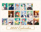IDOLiSH7 2021 Desktop Calendar (Japan Version)