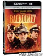 Backdraft (4K Ultra HD + Blu-ray) (2-Disc) (Limited Edition) (Korea Version)