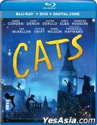 Cats (2019) (Blu-ray + DVD + Digital Code) (US Version)