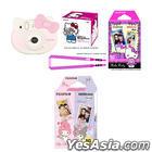 Fujifilm Mini Hello Kitty Instant Camera Limited Edition Box Set with Instax Mini Film (My Melody) Bundle
