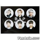 B.A.P Live On Earth 2014 Concert Official Goods - Button Set (6pcs)