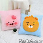 Kakao Friends Little Point Square Cushion (Apeach)