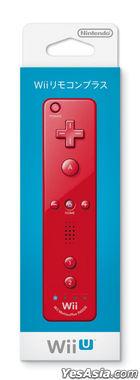 Wii Remote Con Plus (Red) (Japan Version)