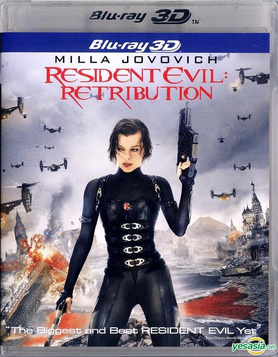 Yesasia Resident Evil Retribution 2012 Blu Ray 2d 3d Hong Kong Version Blu Ray Michelle Rodriguez Sienna Guillory Intercontinental Video Hk Western World Movies Videos Free Shipping